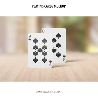 Spielkarten-modell
