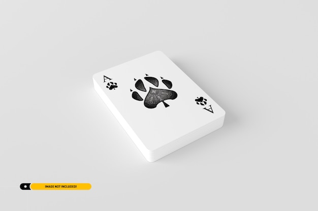 Spielkartenmodell