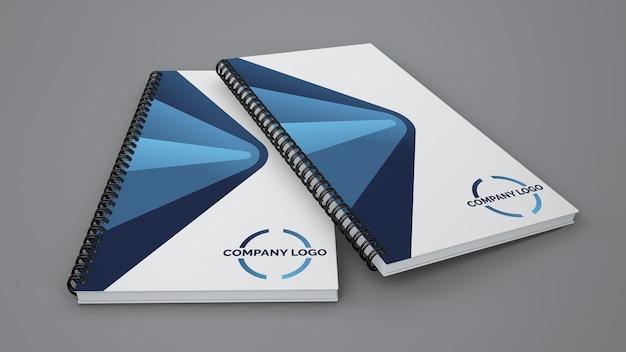 Spiral-booklet-modell