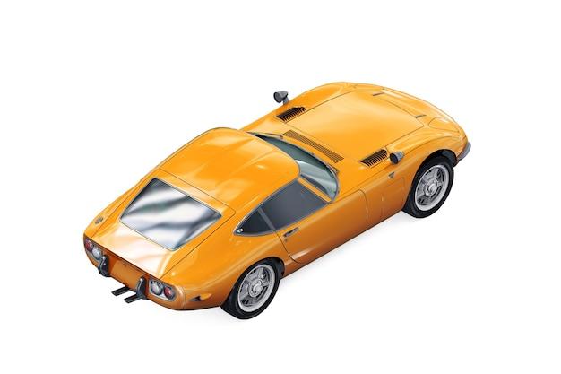 Sport retro auto modell