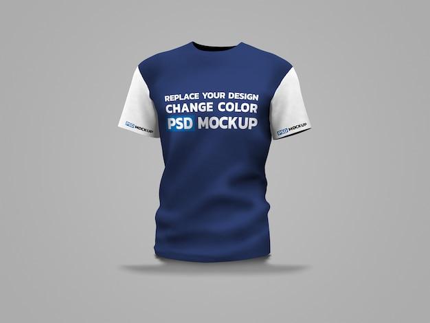 Sport shirt mockup 3d-rendering Premium PSD