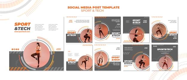 Sport und technik social media post