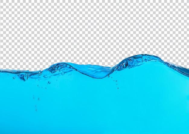 Spritzwasser isoliert