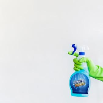 Sprühflasche mockup