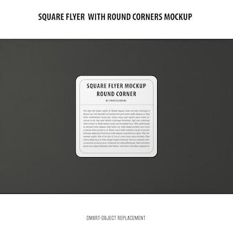 Sqaure flyer mockup