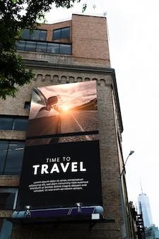 Stadt plakatkonzept modell