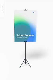Stativ-banner-modell, vorderansicht