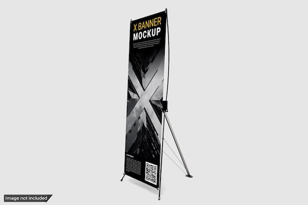 Stehendes x-banner-modell