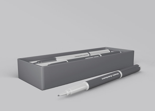Stiftmodell für das merchandising