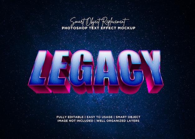 Stil legacy-texteffekt
