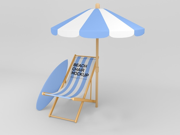 Strandkorbmodell
