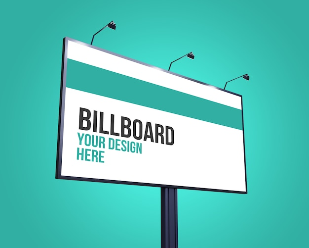 Street billboard-modell