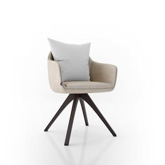Stuhl und kissen