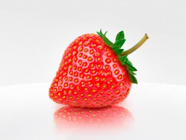 Süße erdbeere high definition psd
