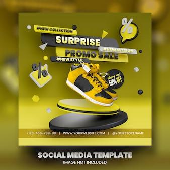 Super sale social media banner vorlage premium psd