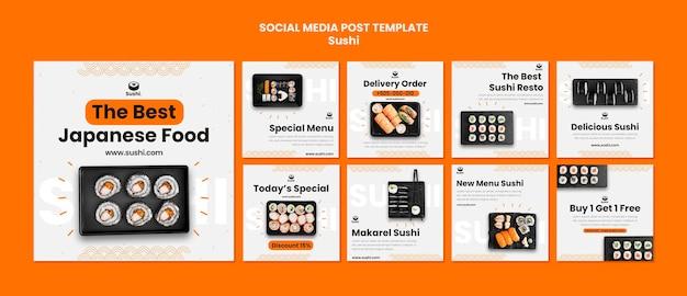 Sushi restaurant instagram beiträge gesetzt