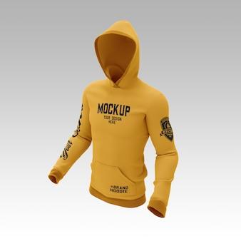 Sweatshirt hoodie mockup