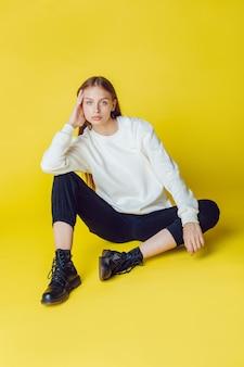 Sweatshirt-modell