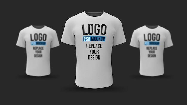 T-shirt 3d rendering modell design Premium PSD