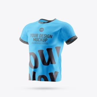 T-shirt modell isoliert