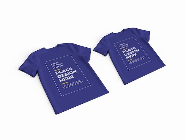 T-shirt stoff modell design isoliert