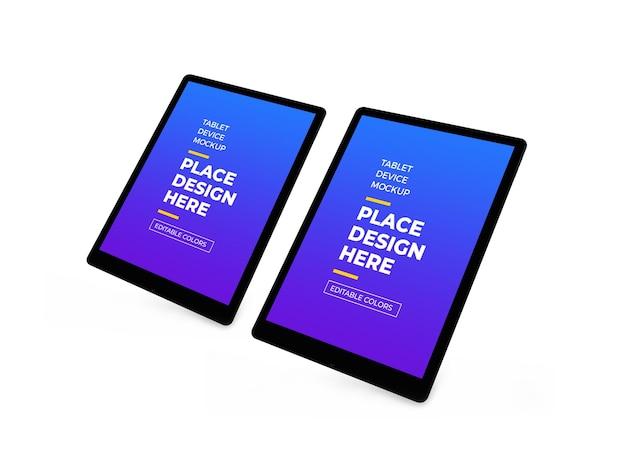 Tablet-gerät 3d-modell