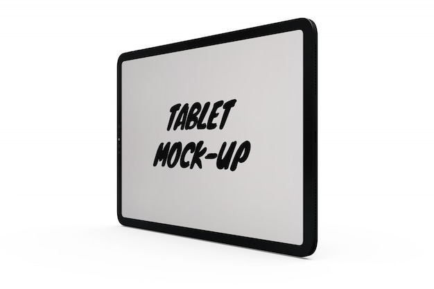 Tablet-modell isoliert