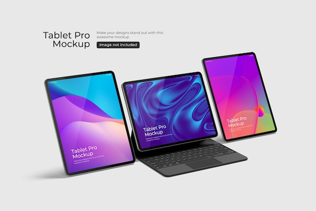 Tablet pro psd-modell
