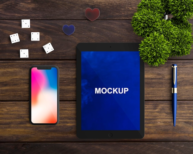 Tablet und smartphone-modell