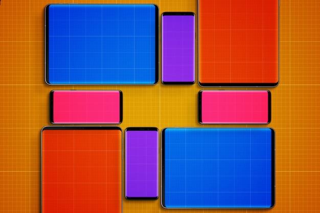 Tablets & handys mockup