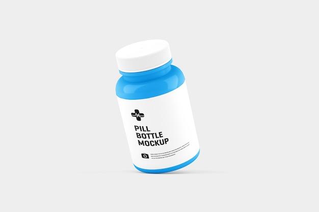Tablettenfläschchen mockup