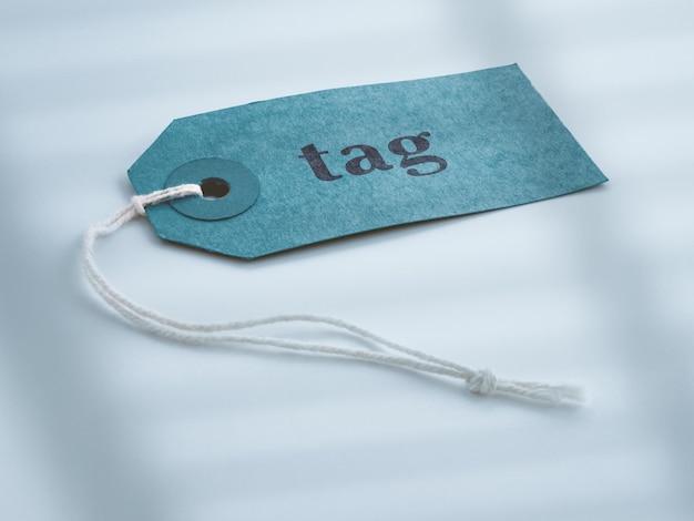 Tag-mockup-design