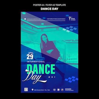 Tanztag druckvorlage