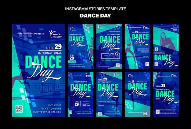 Tanztag instagram geschichten vorlage
