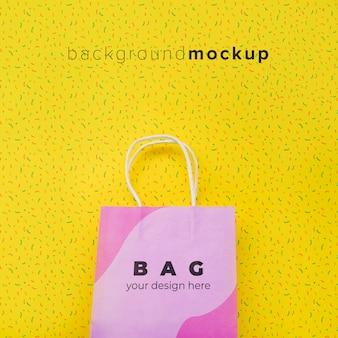 Tasche mit verkaufskampagne