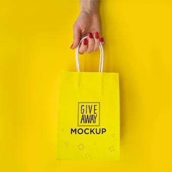 Tasche mit verkaufskampagnenstil