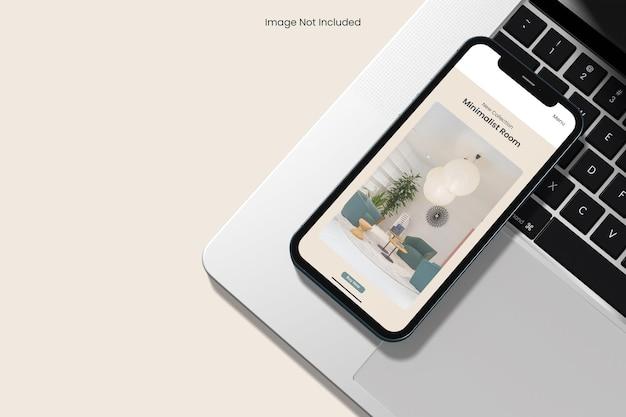 Telefon-mockup-design isoliert
