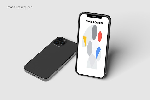 Telefon- und bildschirmmodell