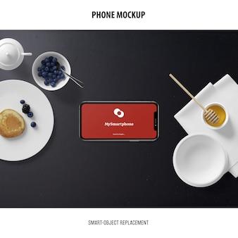 Telefonbildschirm-modell