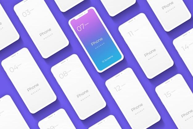 Telefonmodell für app-präsentation
