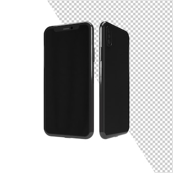 Telefonmodell isoliert rendering