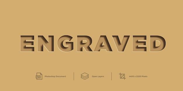 Text effekt design layer style vorlage