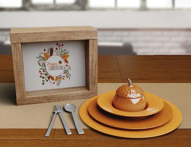 Thanksgiving day restaurant anordnung
