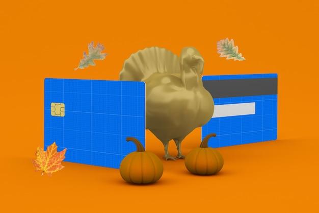 Thanksgiving-kreditkarte