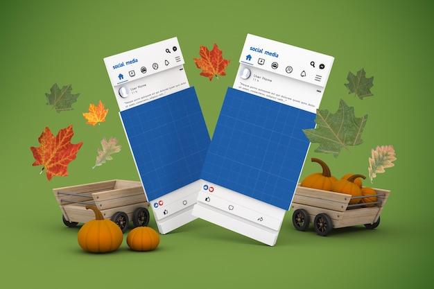 Thanksgiving-social-media-modell