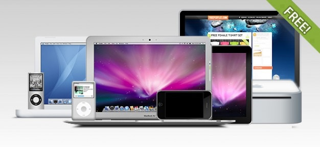 The ultimate apple-psd-sammlung