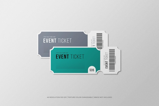 Ticket-modell zur eröffnungsveranstaltung