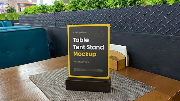 Tischzeltständer mockup