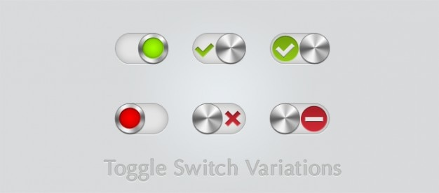 Toggle switch variationen