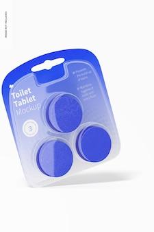 Toiletten-tablet-modell